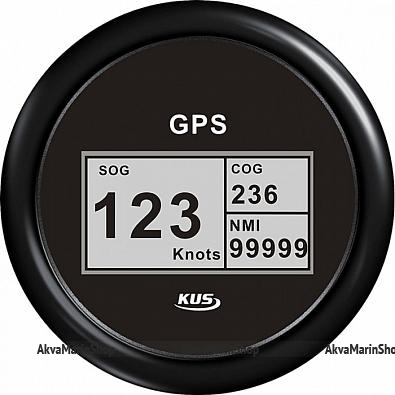 GPS-Спидометр цифровой черный с черной окантовкой KUS Арт WM KY08213