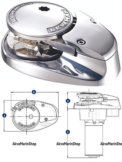 Якорная лебедка V700 «Lewmar» Арт MM 10242895
