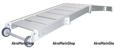 Трап-сходня алюминиевый, 2,3 м Арт MM 10245121