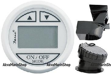 Эхолот с транцевыи датчиком глубины и датчиками температуры воды и воздуха, серия «Dress white» Арт MM 10246832