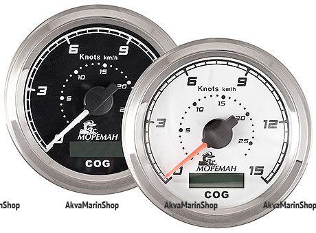 GPS спидометр, 60 узлов, белый циферблат, Мореман Арт MM 10252282
