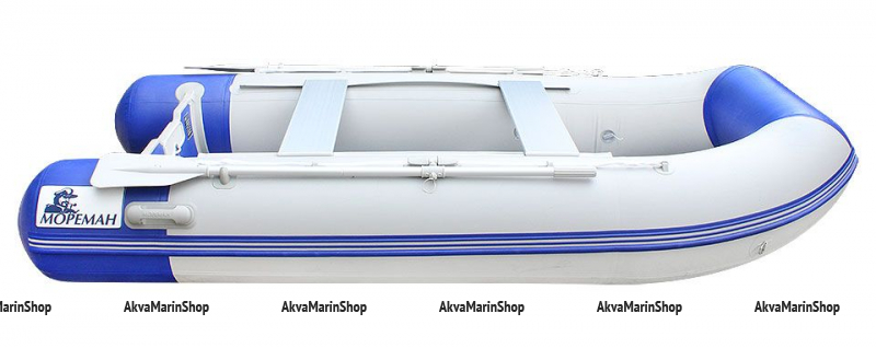 Надувная моторно-гребная лодка «Мореман 310» Арт MM 10258844
