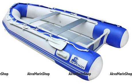 Надувная моторно-гребная лодка «Мореман 420» Арт MM 10258848