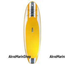 SUP доска, желтая с белыми и черными вставками, 305 см Арт MM 10259739
