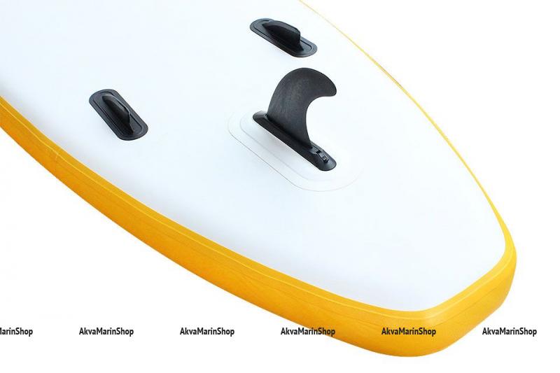 SUP доска, желтая с белыми и черными вставками, 335 см Арт MM 10259738