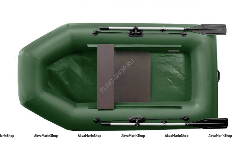 Надувная лодка Феникс 250 (цвет зеленый)