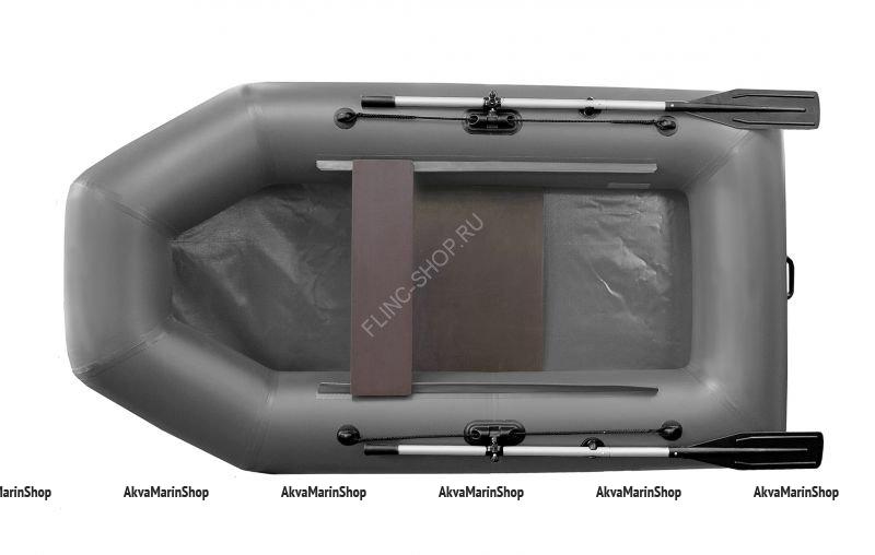 Надувная лодка Феникс 250 (цвет серый)