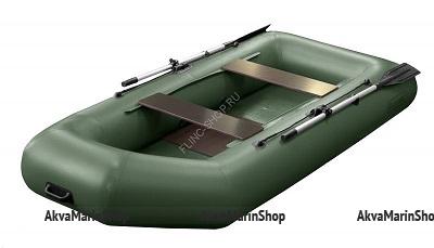 Надувная лодка Феникс 280 (цвет зеленый)