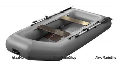Надувная лодка Феникс 280 (цвет серый)