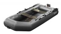 Надувная лодка Феникс 280 Т (цвет серый) (с транцем)