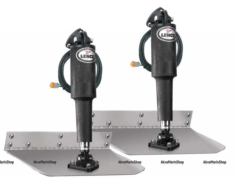 Транцевые плиты электрические тип Standard mount Lenco США Арт CMG
