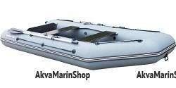 Лодка надувная килевая с фанерными пайолами Хантер 340