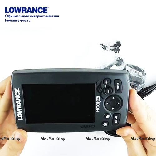 Эхолот Lowrance Hook-4x Mid/High/DownScan Арт SM