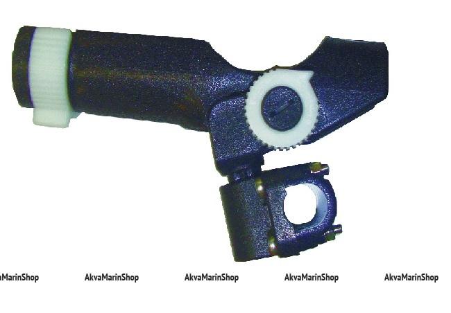 Держатель удилища с креплением на релинг или плоскость пластиковый Арт KMG 210280