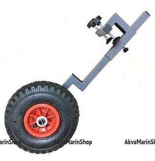 Транцевые колеса на струбцинах, без сверления транца Арт IvTur
