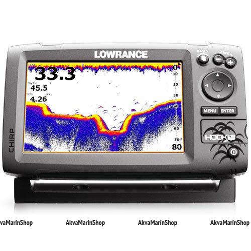 Эхолот Lowrance Hook-7x Mid/High/DownScan Арт SM