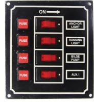 Панель электрическая с четырьмя переключателями Арт CMG 310035