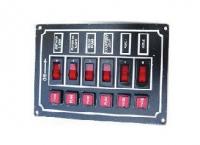 Панель с шестью переключателями и предохранителями Арт CMG 310036