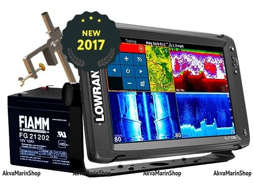 Эхолот-картплоттер Lowrance Elite-12Ti TotalScan Transducer Арт SM