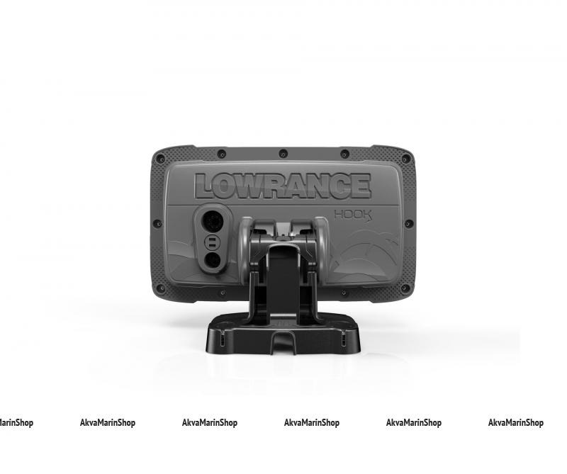 Эхолот Lowrance Hook2-5 SPLITSHOT US COASTAL/ROW Арт SM