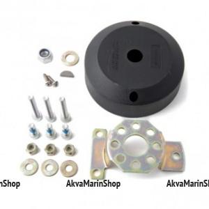 Комплект установки рулевого редуктора, с верхней накладкой черного цвета, с углом установки 90°, Multiflex Арт KMG 611003