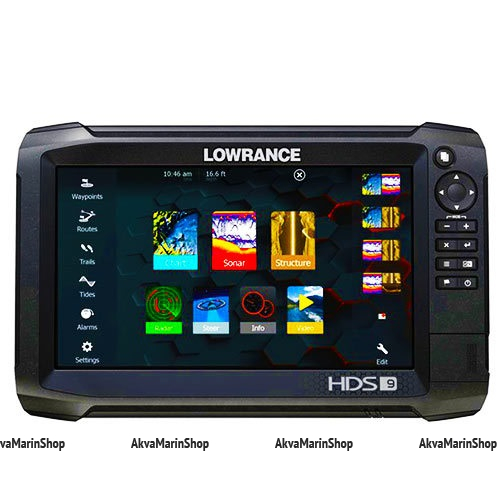 Эхолот-картплоттер Lowrance HDS 9 Carbon No Transducer Арт SM