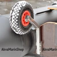 Транцевые колеса для лодки быстросъемные из нержавеющей стали ТК-150Н Арт Kl ТК-150Н
