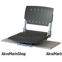 Кресло поворотное с кронштейном для установки на лавку