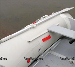 Весло для лодки ПВХ разборное 163 см, серое Арт Bdr DJ201G