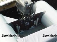 Держатель спиннинга нержавеющая сталь с обработкой на транец, комплект Арт Kl DS-160H
