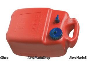 Бак топливный 12 литров с намоткой на ручке,для вертикального и горизонтального использования, CANSB, Италия Арт CMG 410182