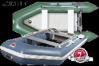 Надувная лодка килевая со стационарным транцем Yukona 300TLK