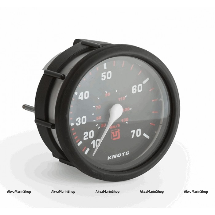 Спидометр черный с черной окантовкой, манометрический UFLEX Арт WM 63203W