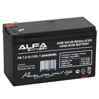 Аккумулятор 7 Ампер часов 12 Вольт для эхолотов и электро насосов Арт SnrAlfa