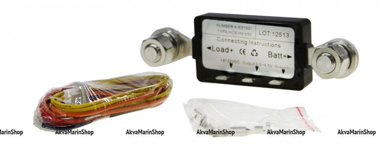Амперметр чёрный с чёрной окантовкой 80-0-80 Ампер WEMA Арт KMG 510030