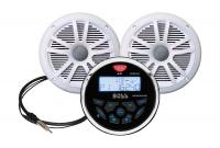 Аудиосистема BOSS MGR350B с колонками водонепроницаемая Арт Vdn MCKGB350B