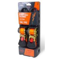 Автоматические стяжные ремни HORD HEAVY DUTY 1800мм*25мм (2 шт) Арт TS H16-TD-OR