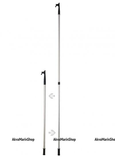 Багор (крюк отпорный) телескопический 122-213 см Арт CMG 210128