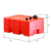 Стационарный топливный бак на 32 литра 220х500х350мм ELFO, Ceredi Италия Арт Tm 6632_32