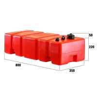 Бак топливный стационарный 52 литра ELFO 220х800х350мм Ceredi Италия Арт Tm 6632_52