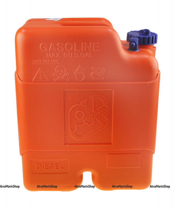 Бак-канистра 22 литра с боковым указателем уровня топлива CAN-SB SE2009 Артикул CMG 410186