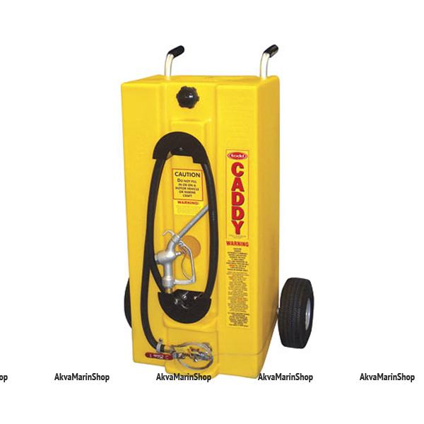 Бак топливный транспортировочный для дизеля на колесиках 105л TODD США Арт TDC P93-2401