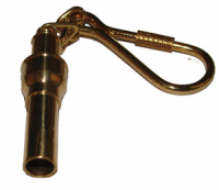 Брелок для ключей (боцманский свисток) из латуни Арт CMG 210008