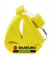 Брелок-поплавок парусник желтый Suzuki Marine Арт Vdn