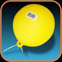 Буй (ПВХ) d 22 см шар надувной Арт Opt