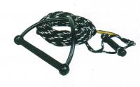 Буксировочный трос для воднолыжника 22.5 метра с двумя ручками 33 см и 14 см Арт CMG 210142