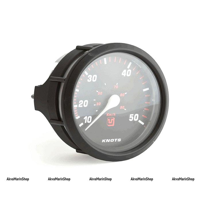 Спидометр черный с черной окантовкой, манометрический UFLEX Арт WM 63202U