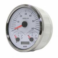 Мультифункциональный прибор 3 в 1 (тахометр, указатель уровня топлива, вольтметр) 0-180 ОМ, KUS Арт WM JMV00234