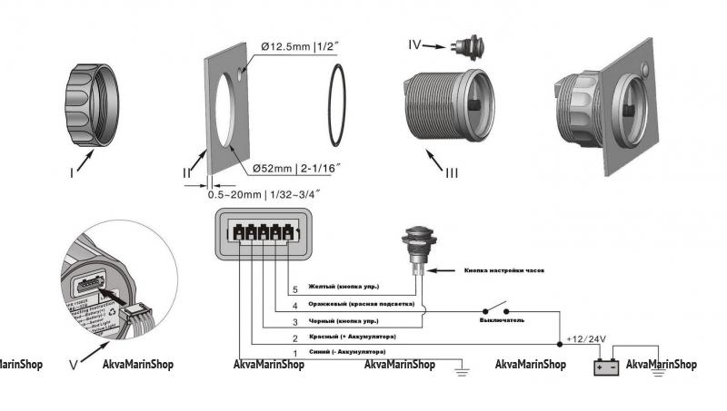 Часы белые с белой окантовкой аналоговые (12-часовой формат) Арт KMG 510029