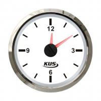 Часы белые с нержавеющей окантовкой аналоговые Арт VDNJMV00263_KY09100